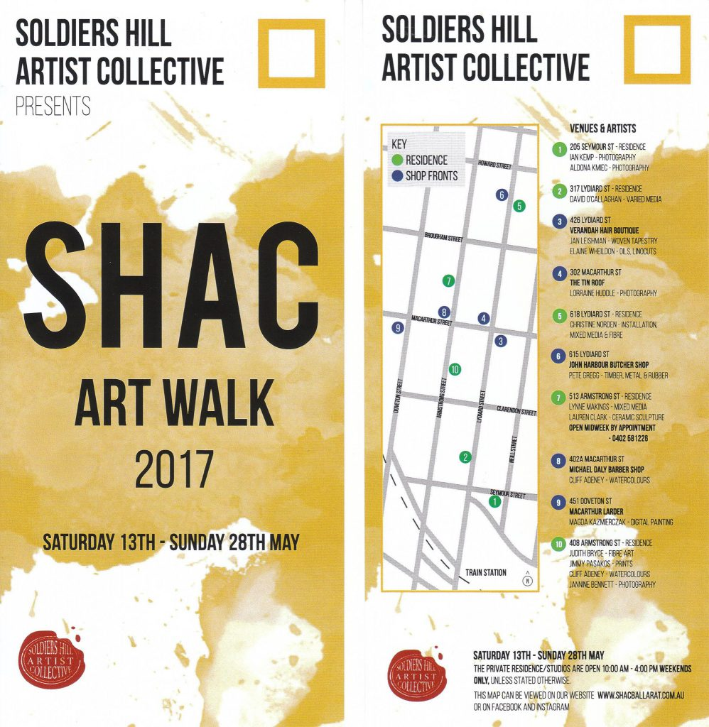Soldiers Hill Artist Collective Art Walk