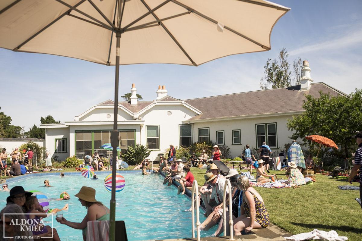 Ballarat Arts Alive Pool party at Mooramong